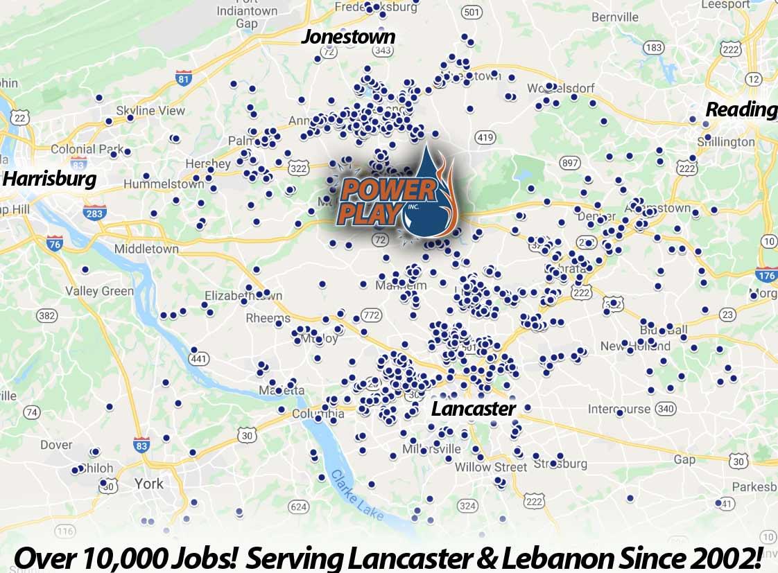 power washing lancaster pa pressure washing lebanon pa coverage